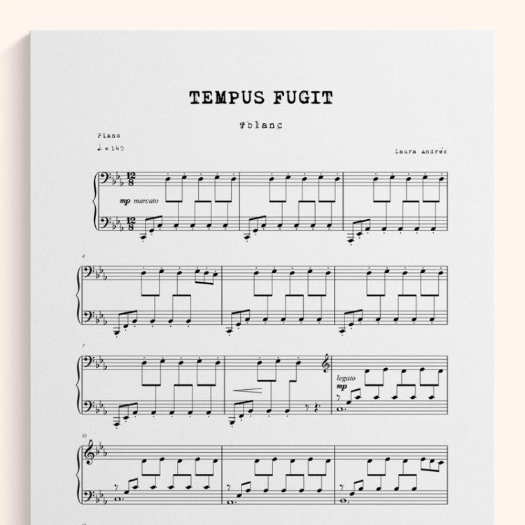 Tempus-Fugit - Partitura